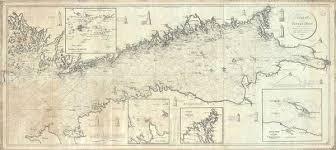 Details About 1815 Blankensteiner Blueback Nautical Chart Or Map Helsinki To St Petersburg
