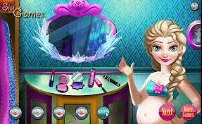 hamil elsa spa permainan elsa berdandan permainan frozen elsa makeover permainan by makeover games
