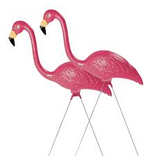 garden flamingos. Amazon.com : Sculptural Gardens Pink Flamingo Lawn Ornament, Pair Yard Art Garden \u0026 Outdoor Flamingos F