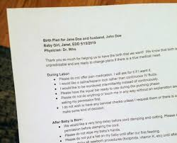 What To Put In A Birth Plan How To Create An Effective Birth Plan