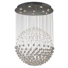 excelsior exc2350 10 light crystal pendant