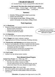 Sample Babysitter Resume Http Exampleresumecv Org Sample