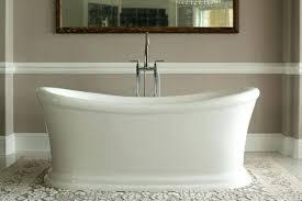 acrylic freestanding bathtub cu cu 60 inch freestanding acrylic bathtub