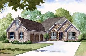 country european french country house plan 82406 elevation