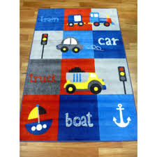 kids rugs cars boats train squares comfort 1x1 5m 1 33x2m sizes