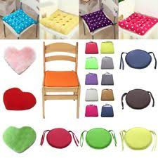 soft chair cushions seat pads round pillow garden dining office home decorative