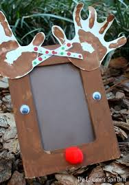 Popsicle Stick Photo Frame  Indian Recipes  BlogexploreChristmas Picture Frame Craft Ideas