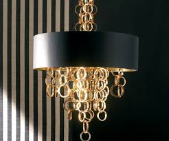 modern italian black and gold chandelier juliettes interiors