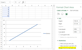 Create Chart Using Xlsxwriter In Excel That Does Not Move Or