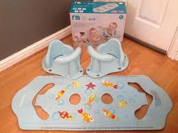 mothercare aqua pod duo bath seats for twins boxed