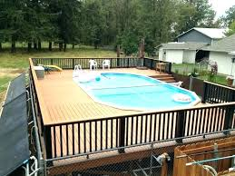 pool deck kit above ground pool deck kits above ground pool deck kits oval above ground