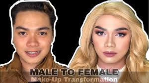 male to female makeup transformation bryan bartolay you