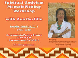 Spiritual Activism Memoir Writing Workshop with Ana Castillo in ...