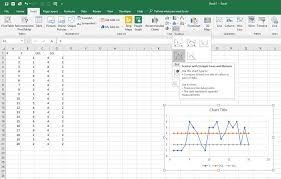 How To Plot Horizontal Lines In Scatter Plot In Excel