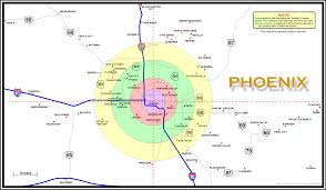 map of phoenix arizona area  az computer works