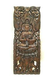 carved wood wall decor large carved wood wall art large carved wood panel wall art wood