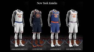 Okc New Jersey Design Ranking The Nbas New Nike Designed Uniforms Chicago Tribune