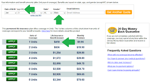 Whole Life Insurance Price Chart Colonial Penn Life Insurance Review For 2019 Rates