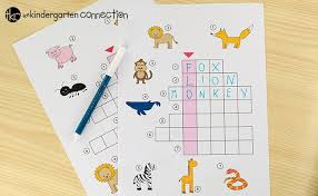 These are not phonetic alphabets as in those used to guide pronounciation, rather they are a selection of alphabets used, particularly by radio operators, to spell out words. Picture Crossword Puzzles The Kindergarten Connection