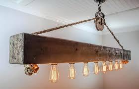 wood beam chandelier the rustic 6 foot beam chandelier wood beam chandelier diy
