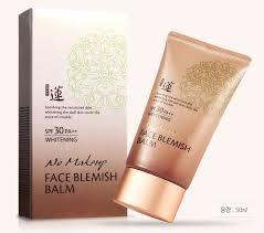 bb no makeup face blemish balm whitening cream spf 30 pa 50ml korean cosmetic