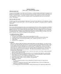 How To Write Career Objective In Resume Sample Objective Resume