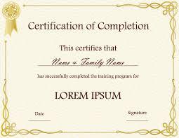 Free Downloadable Certificates Certificate Template Free Download Certificates Templates Free