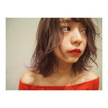 スタッフ撮影 美容室zip 緑店所属外崎夏純のヘアカタログミニモ