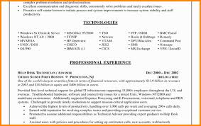 8 It Support Specialist Resume Job Apply Form