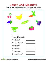 Fruit And Veggie Mix Up Lesson Plan Education Com