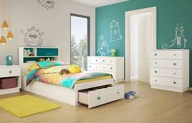 Little Monsters Twin Storage Mate's Customizable Bedroom Set