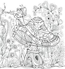 Coloring Pages Printable Fairy Coloring Pages Cute Fairies And