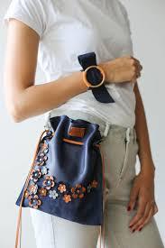 Designer Mini Crossbody Bag Crossbody Leather Bag Bucket Bag Small Leather Purse