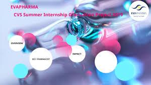 Cvs Summer Internship Evapharma Summer Internship Graduation Project By Hend