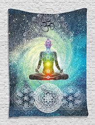original yoga painting omwoman yoga meditate. Ambesonne Yoga Tapestry Decor By, Mandala Design Zen Meditation Hippie Style With Sign Chakra Original Painting Omwoman Meditate