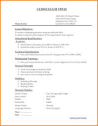 Non Technical Skills Resume Examples Sidemcicek Com