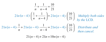 solve the resulting quadratic equation
