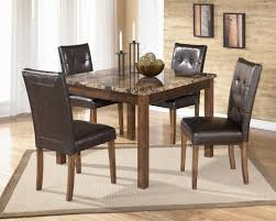 Ashley Furniture Kitchen Table And Chairs Signature Design By Ashley Furniture Theo 5 Piece Square Table Set