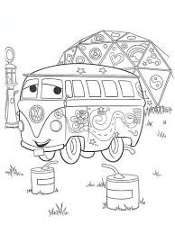 Small Picture Colouring Pages Cars The Movie A cute coloring page with the