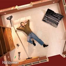 fit trim and restretch your carpet in one afternoon with a carpet stretcher