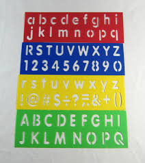 Custom Letter Art Template Inspiration Alphabet Stencil Clip Art TechFlourish Collections