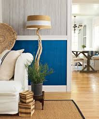 chair rail with a plimentary color scheme cool ways to use paint laurel wolf