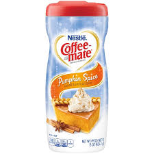 How much does the shipping cost for coffee mate powder creamer flavors? Nestle Coffee Mate Pumpkin Spice Powder Coffee Creamer 15 Oz Instacart