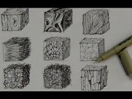 pen and ink drawing tutorials how to create realistic textures you