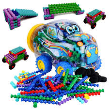 5 blagoo building blocks car toy set