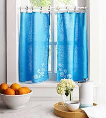 dish towel curtains