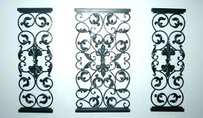 metal garden wall art outdoor uk hangings iron wrought black simple my of life decorating a