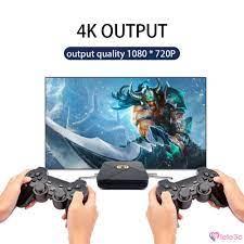 Game Box WiFi 4K Video Console Emulator 6000+ Games Retro TV Box Video Game  Player lele