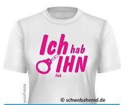 T Shirt Bedruckt Mit Lustigem Spruch Jga Schwobahemdde