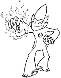 Cool Ben Ten Pictures To Color